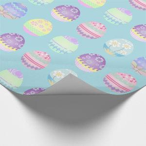 Easter Egg Pattern Colorful ID177 Wrapping Paper