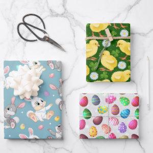 Easter Treats Wrapping Paper Sheets