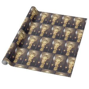 Elegant All Occasion ME Pearl Wrapping Paper