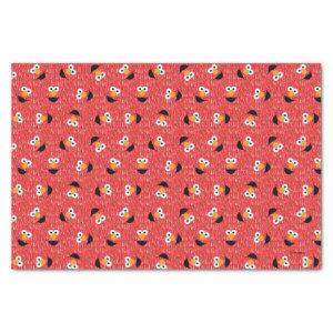 Elmo Fur Face Pattern Tissue Paper
