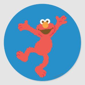 Elmo Happy Dancing Classic Round Sticker
