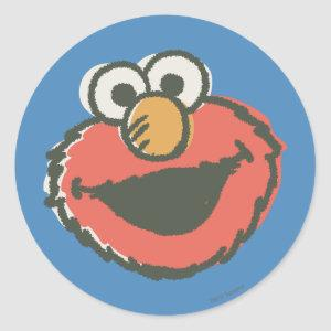 Elmo Retro Classic Round Sticker