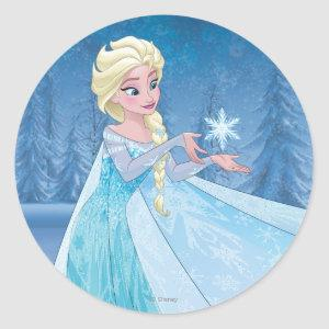 Elsa | Let it Go! Classic Round Sticker