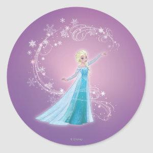 Elsa | Love Thaws, Love Glows Classic Round Sticker