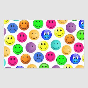 Emoji Faces Custom Stickers