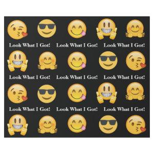 Emoji Look What I Got Wrapping Paper