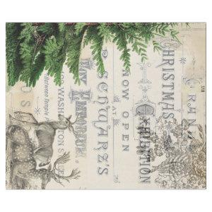 Ephemera Christmas Wrapping Paper
