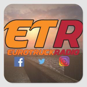 EuroTruckRadio Sticker Pack Design #1