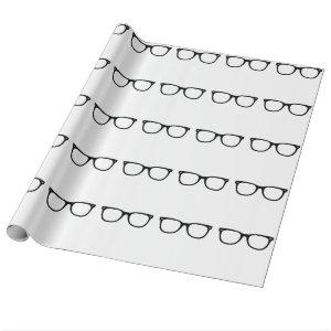 Eye Glasses Wrapping Paper