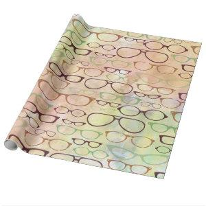 Eyeglass Frames Wrapping Paper