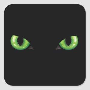 Eyes green sticker