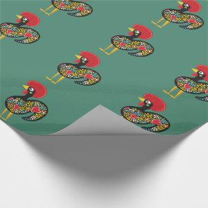 Famous Rooster of Barcelos Portugal Nr. 07 Wrapping Paper