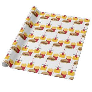 Fast Food Wrapping Paper