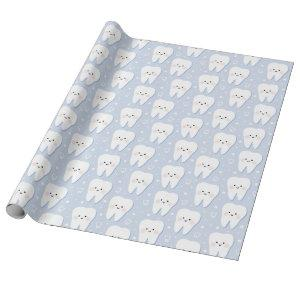 First Tooth Gift Wrapping Paper