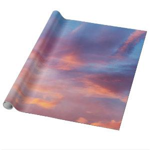 flirty sky wrapping paper