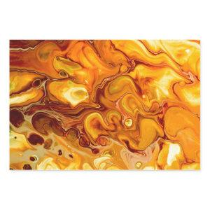 Fluid Art Pour Abstract Wrapping Paper Sheets