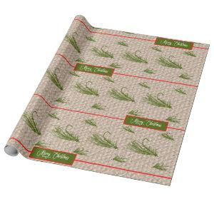 Fly Fishing Christmas Wrapping Paper