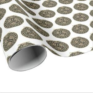 Fly Fishing Fly Reel Fisherman's Party Wrapping Paper