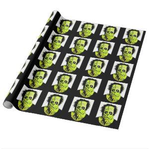 Frankie's Bad Hair Day wrapping paper