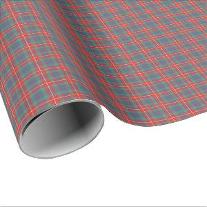 Fraser of Lovat Ancient Clan Tartan Wrapping Paper