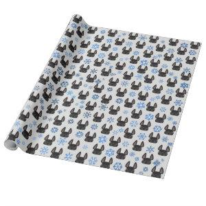 French Bulldog Holiday Wrapping Paper