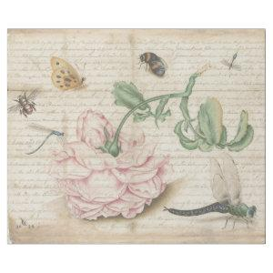 FRIENDS OF A ROSE VINTAGE DECOUPAGE WRAPPING PAPER
