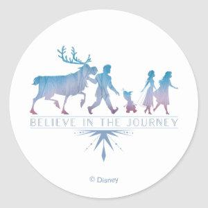 Frozen 2: Anna, Elsa & Friends | The Journey Classic Round Sticker