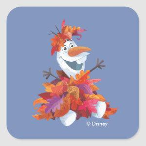 Frozen 2 | Olaf - Stir Up Some Fun! Square Sticker