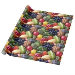 Fruits and Veggies wrapping paper