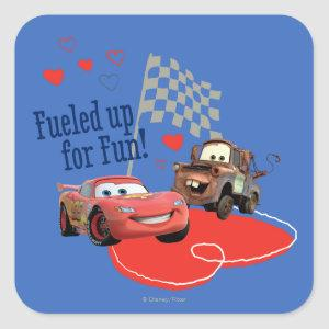 Fueled up for Fun! Square Sticker