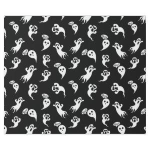 Fun Halloween Ghosts Holiday Wrapping Paper
