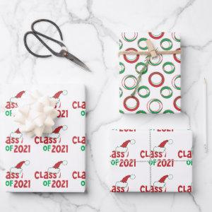 Funny © Class 2021 Grad Tassel Holiday Wrapping Paper Sheets