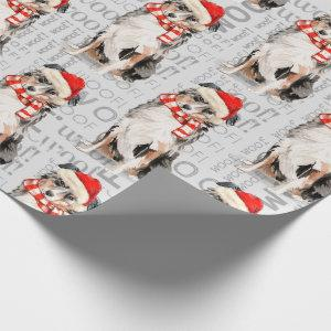 Funny Dog Lover Australian Shepherd Christmas Wrapping Paper