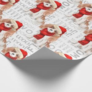 Funny Dog Lover Cavalier King Charles Spaniel Wrapping Paper