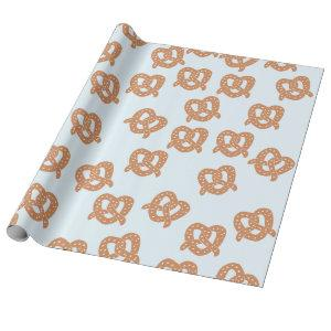 Funny Pretzel Wrapping Paper