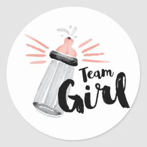 Gender Reveal Team Stickers