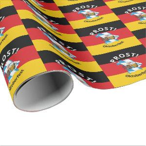 German Flag | Prost | OKTOBERFEST Wrapping Paper