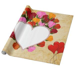 gift paper Day of San Valentin