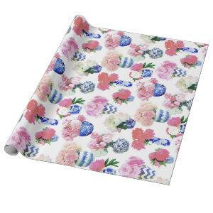 Ginger Jar Peonies Wrapping Paper