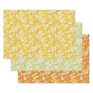 ginkgo leaves wrapping paper sheets