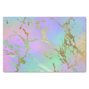 Girly Glam Marble | Trendy Playful Pastel Ombre Tissue Paper