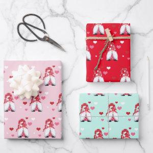 Gnome Love Wrapping Paper Sheets