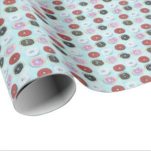 Go nuts for Donuts Wrapping Paper