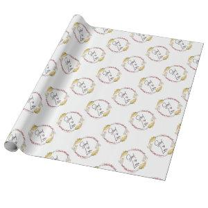 God is Love – Spiritual and Religious Wrapping Paper