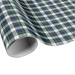 Gordon Clan Dress Tartan Wrapping Paper