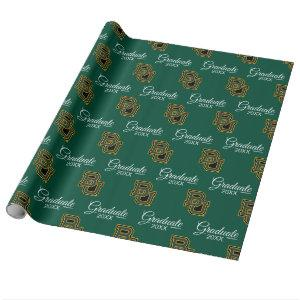 Graduation | Baylor University Block Letters Wrapping Paper