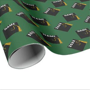 graduation personalized gift wrapping paper