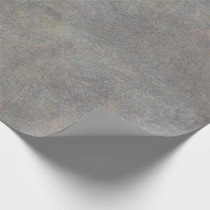 Gray Stone Texture Wrapping Paper