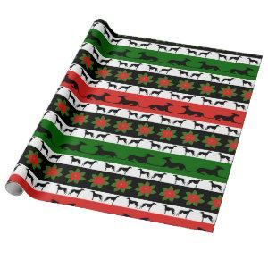 Greyt Greyhound Christmas Wrapping Paper
