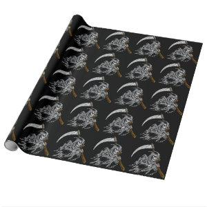 Grim Reaper Wrapping Paper
